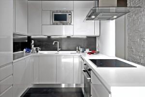 кухню белого цвета